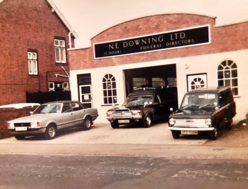 N E Downing Ltd Funeral Directors Vicarage Road 1970